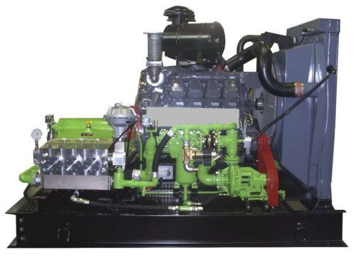UHP400柴油清洗機