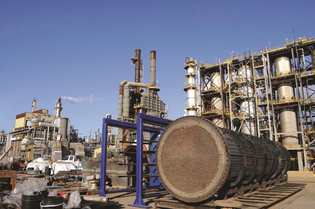 化工行業反應釜、換熱器、管道清洗