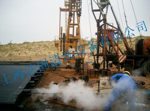石油钻井平台清洗