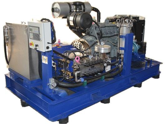 UHP250柴油清洗機